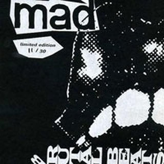 Mad Smooth BRUTAL BEATS Vinyl Record - UK Import
