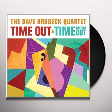 Dave Brubeck TIME OUT/TIME FURTHER OUT Vinyl Record - UK Import