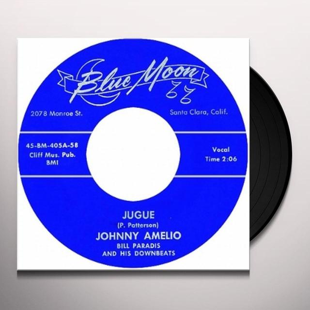 Johnny Amelio JUGUE Vinyl Record - UK Release