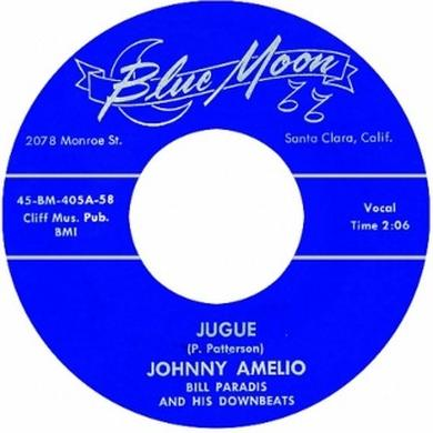 Johnny Amelio JUGUE Vinyl Record - UK Release