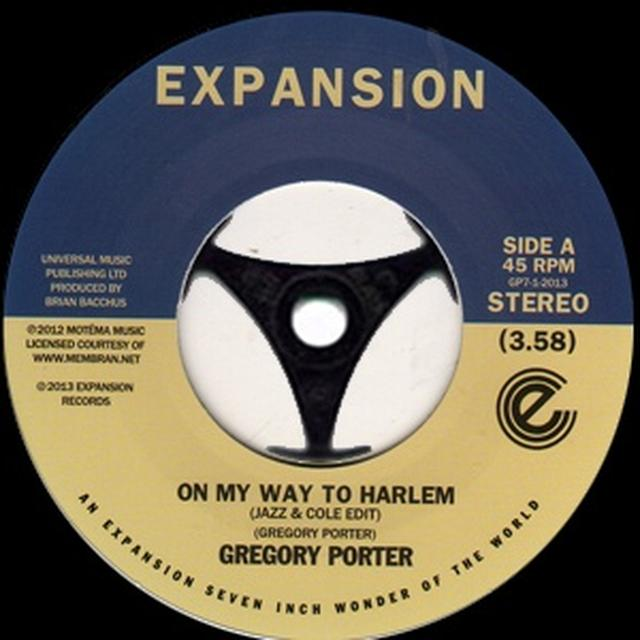 Gregory Porter ON MY WAY TO HARLEM Vinyl Record - UK Import