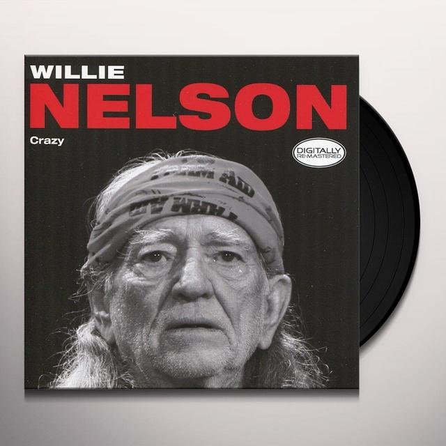 Willie Nelson CRAZY Vinyl Record - Holland Import