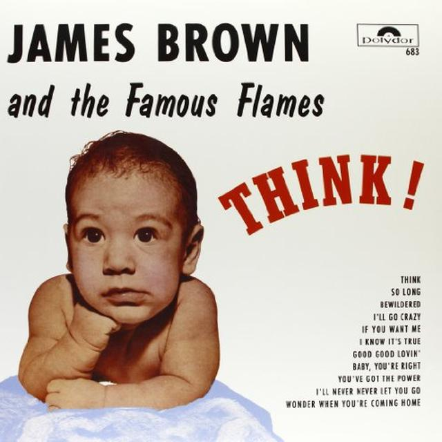 James Brown THINK! (FRA) Vinyl Record