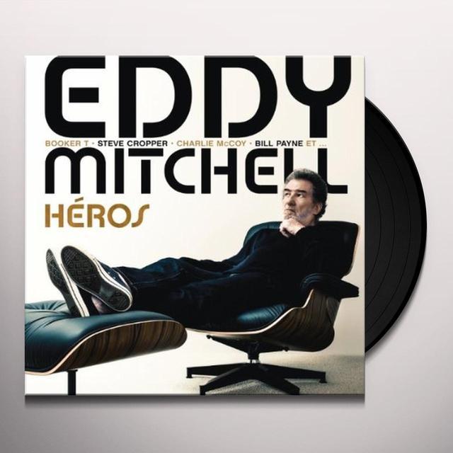 Eddy Mitchell HEROS Vinyl Record