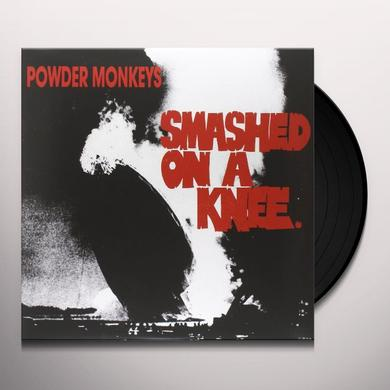Powder Monkeys SMASHED ON A KNEE Vinyl Record