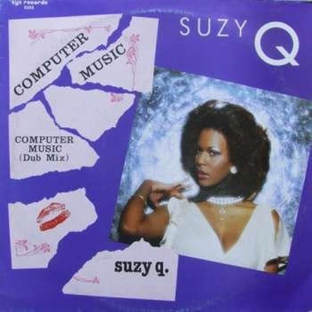 Suzy Q COMPUTER MUSIC Vinyl Record - Canada Import