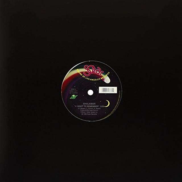 Shalamar NIGHT TO REMEMBER/MAKE THAT MOVE Vinyl Record - Canada Release