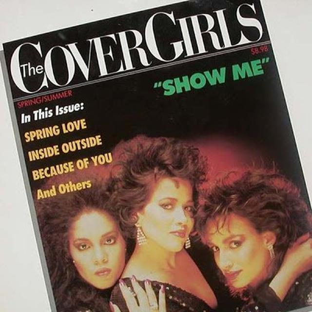 Cover Girls SHOW ME/INSIDE OUTSIDE Vinyl Record - Canada Import