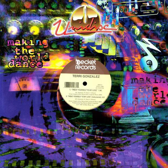 Terri Gonzalez TREAT YOURSELF/BORN A WINNER Vinyl Record