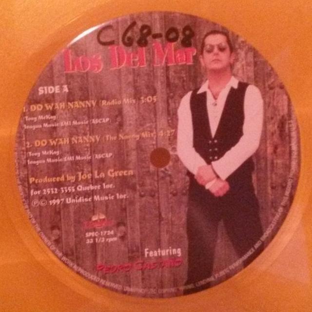 Los Del Mar DO WAH NANNY Vinyl Record