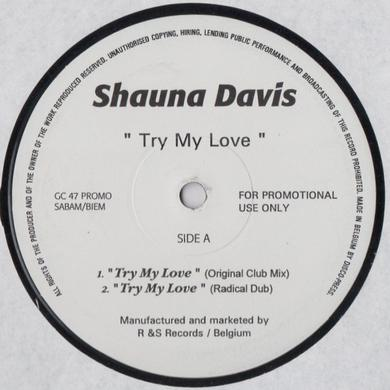 Shauna Davis TRY MY LOVE Vinyl Record