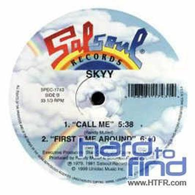 Skyy LETS CELEBRATE/CALL ME Vinyl Record