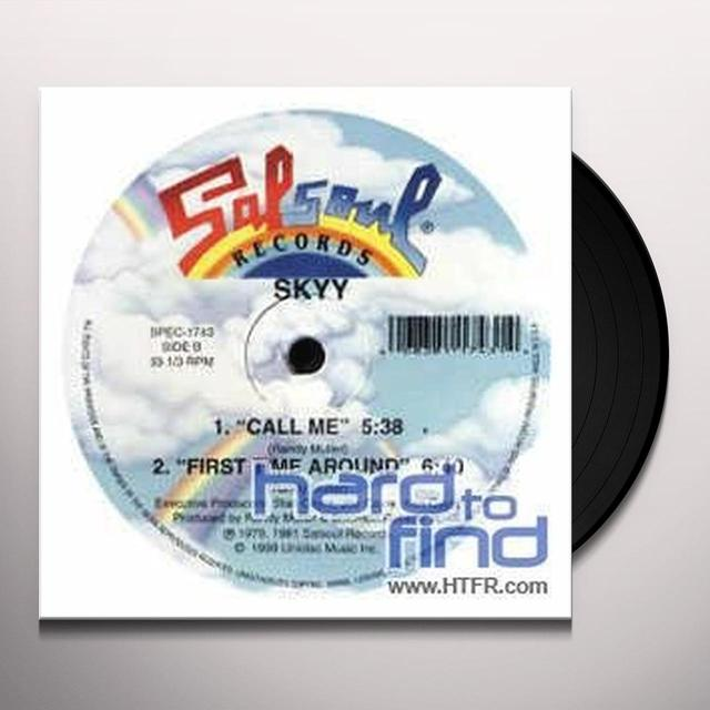 Skyy LETS CELEBRATE/CALL ME Vinyl Record - Canada Import