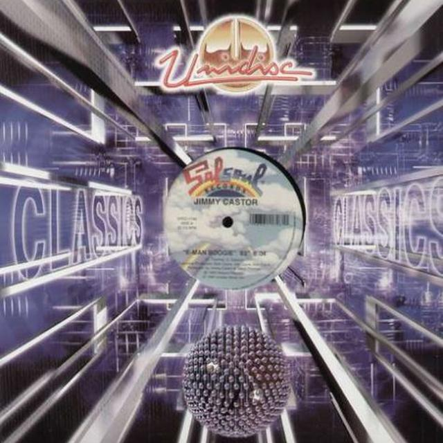 Jimmy Castor E MAN BOOGIE '83/ITS JUST BEGU Vinyl Record