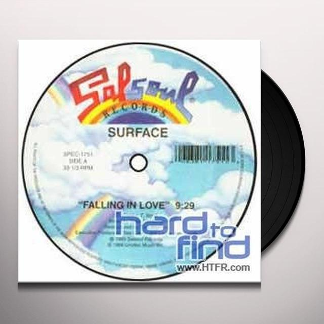 Surface FALLING IN LOVE/STOP HOLDING BACK Vinyl Record - Canada Release
