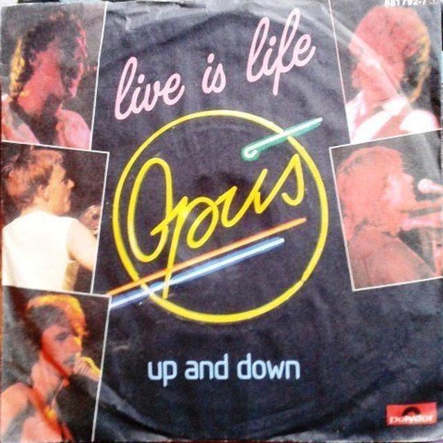 Opus LIVE IS LIFE Vinyl Record - Canada Import