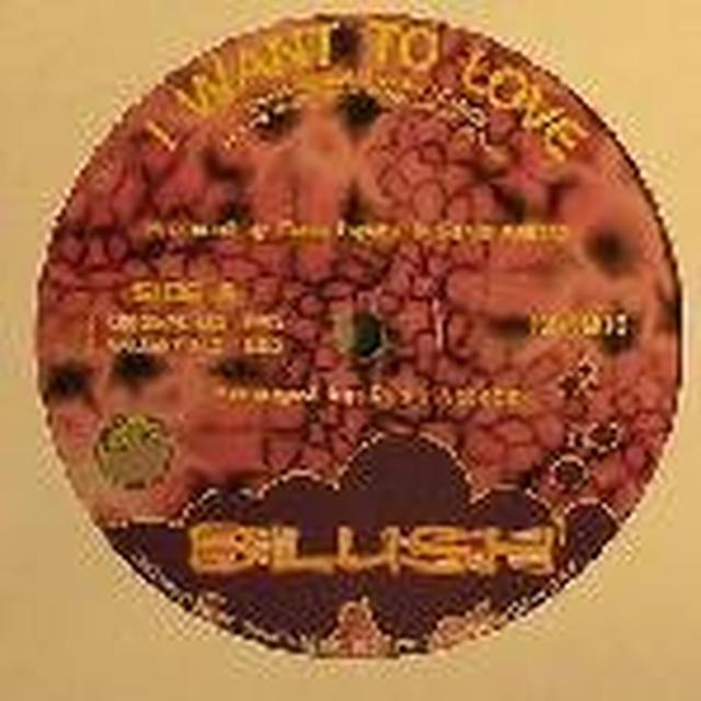 Blush I WANT TO LOVE Vinyl Record