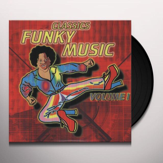 Vol. 1-Funky Music / Various (Can) VOL. 1-FUNKY MUSIC / VARIOUS Vinyl Record - Canada Import