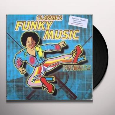 Vol. 2-Funky Music / Various (Can) VOL. 2-FUNKY MUSIC / VARIOUS Vinyl Record - Canada Import