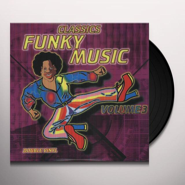 Vol. 3-Funky Music / Various (Can) VOL. 3-FUNKY MUSIC / VARIOUS Vinyl Record - Canada Import