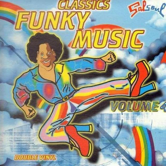 Vol. 4-Funky Music / Various (Can) VOL. 4-FUNKY MUSIC / VARIOUS Vinyl Record - Canada Import