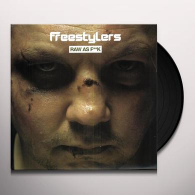 Freestylers RAW AS F--K Vinyl Record - UK Import