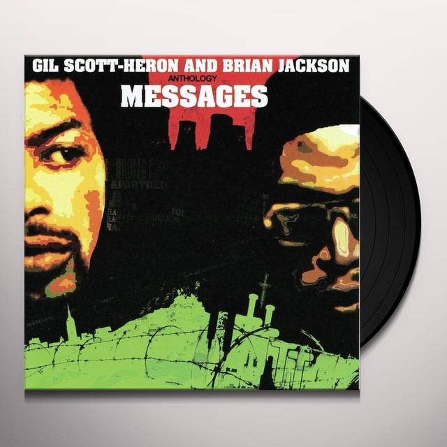 Gil Scott-Heron ANTHOLOGY MESSAGES (UK) (Vinyl)