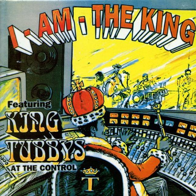 King Tubby I AM THE KING Vinyl Record - UK Import