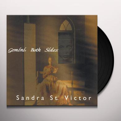 Sandra St Victor GEMINI : BOTH SIDES Vinyl Record