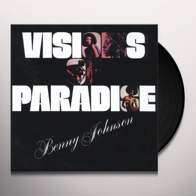 Benny Johnson VISIONS OF PARADISE Vinyl Record - UK Release