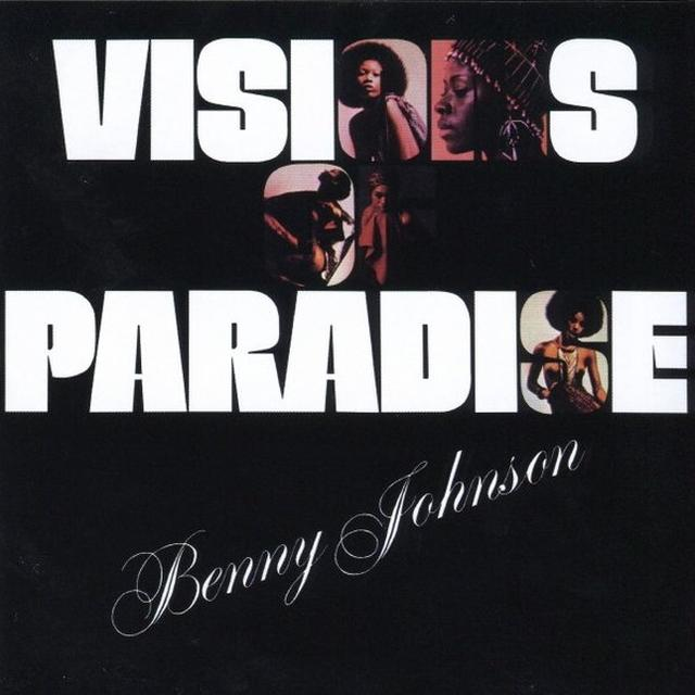 Benny Johnson VISIONS OF PARADISE Vinyl Record - UK Import
