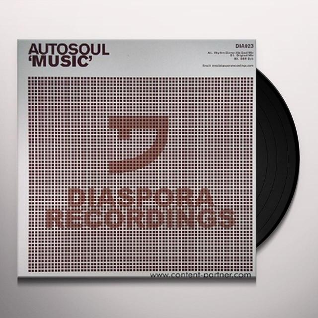 Autosoul MUSIC Vinyl Record - UK Release
