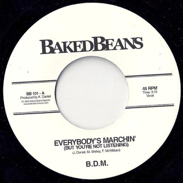 Big Daddy Moochin EVERYBODY'S MARCHIN' Vinyl Record - UK Release