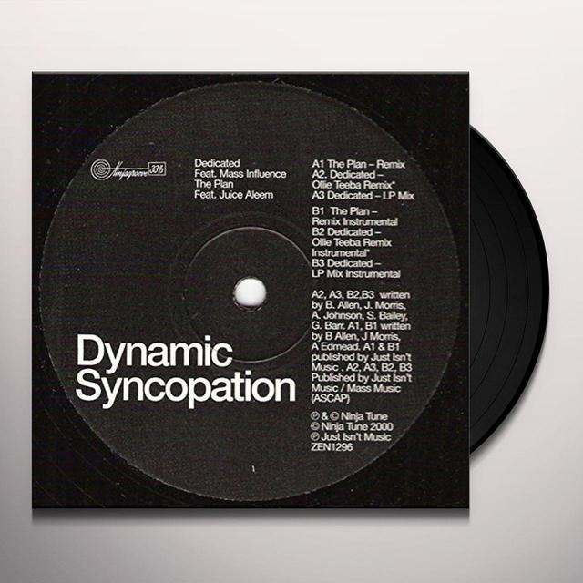 Dynamic Syncopation PLAN Vinyl Record - UK Import