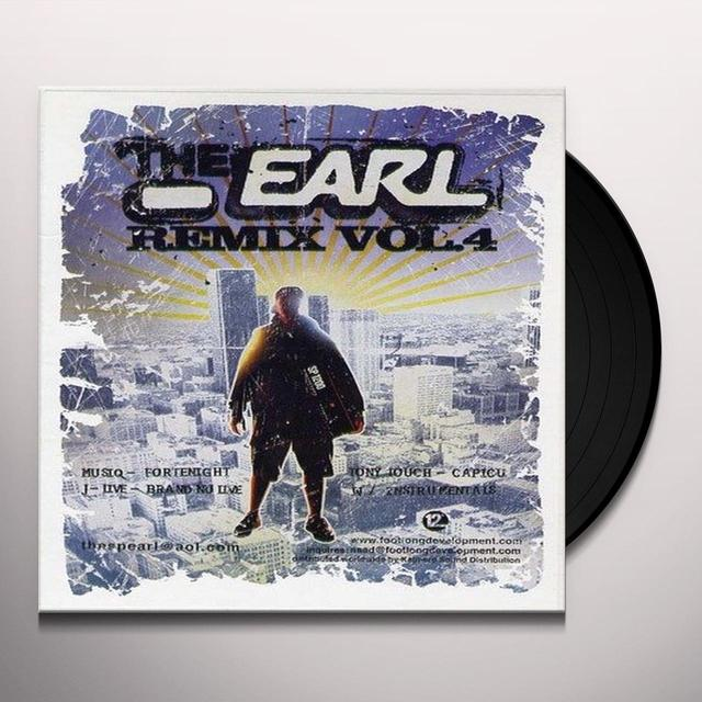 Earl VOL. 4-REMIXES Vinyl Record - UK Release