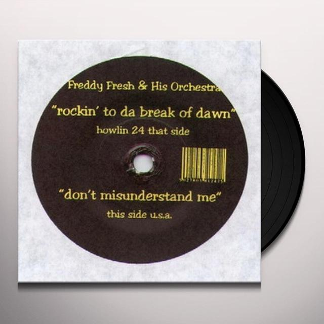 Freddy Fresh ROCKIN TO DA BREAK OF DAWN Vinyl Record - UK Release