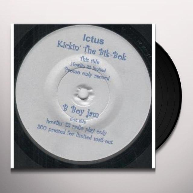 Ictus KICKIN THE BIK BOK Vinyl Record - UK Release