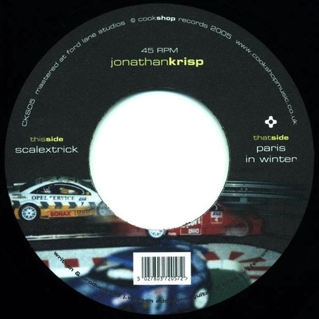 Jonathan Krisp SCALEXTRICK Vinyl Record - UK Release