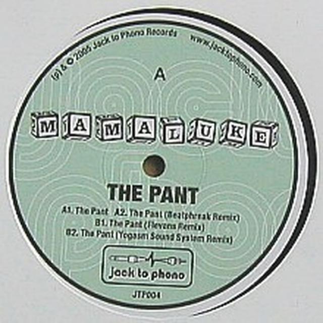 Mamaluke PANT Vinyl Record - UK Release