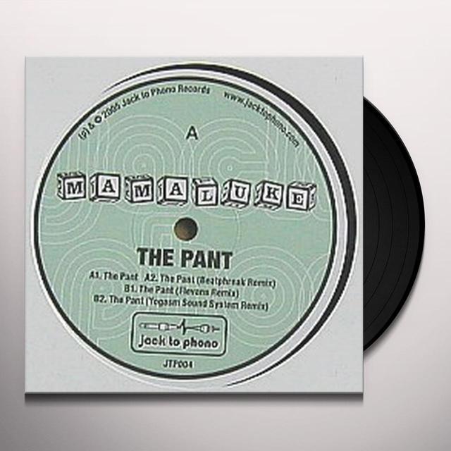 Mamaluke PANT Vinyl Record - UK Import