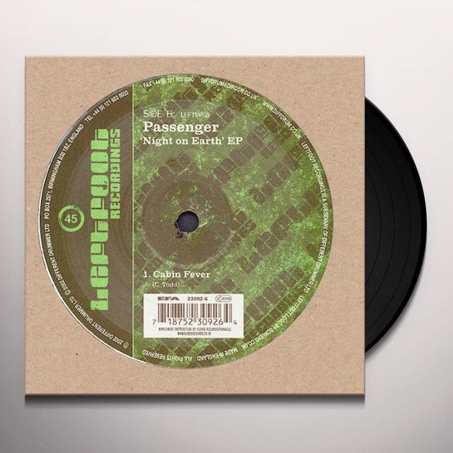 Passenger NIGHT ON EARTH EP Vinyl Record - UK Release
