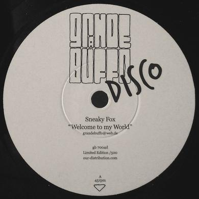 Sneaky Fox WELCOME TO MY WORLD/MAJOR GRUBER Vinyl Record - UK Release