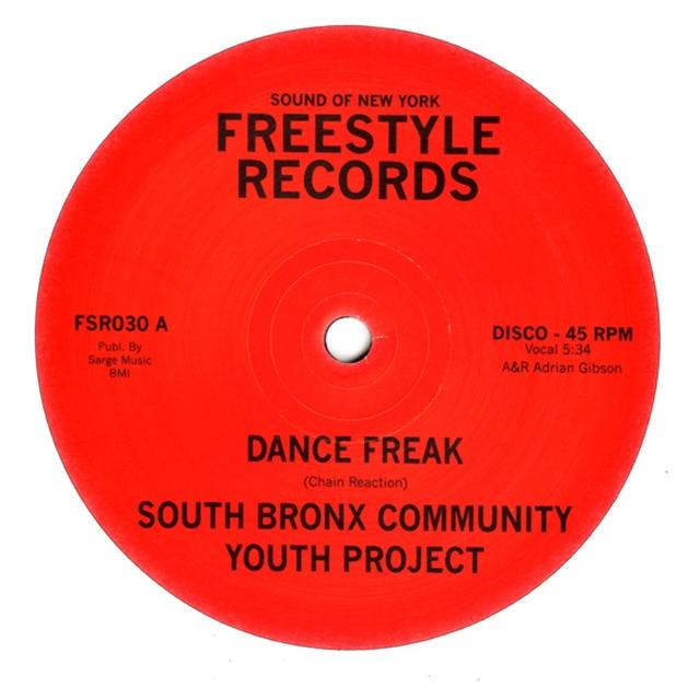 South Bronx Community Youth Project DANCE FREAK Vinyl Record - UK Release