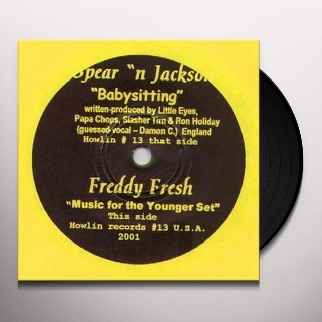 Spear N Jackson BABYSITTING Vinyl Record - UK Release