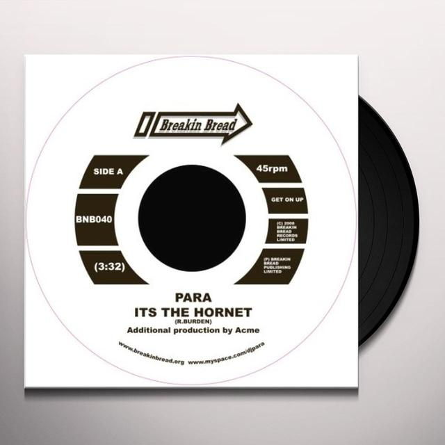 Para IT'S THE HORNET/THE HIDEAWAY Vinyl Record - UK Release