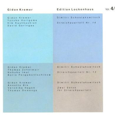 D. Schostakowitsch EDITION LOCKENHAUS 4 Vinyl Record
