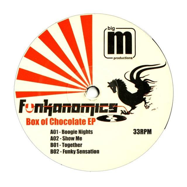 Funkanomics BOX OF CHOCOLATE EP Vinyl Record - UK Release