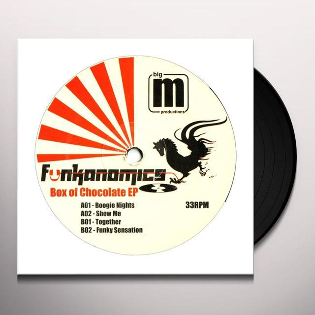 Funkanomics BOX OF CHOCOLATE EP Vinyl Record - UK Import
