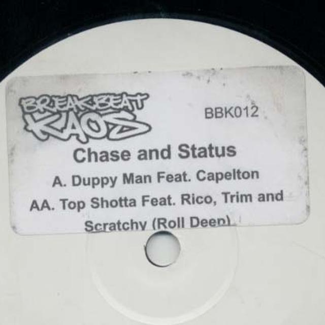 Chase & Status DUPPY MAN/TOP SHOTTA Vinyl Record - UK Release