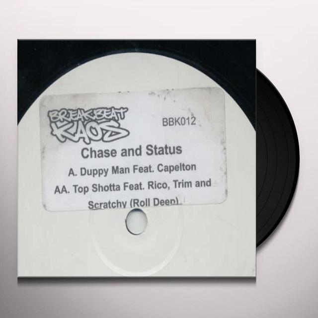Chase & Status DUPPY MAN/TOP SHOTTA Vinyl Record - UK Import